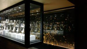 Real Madrid Trophy room