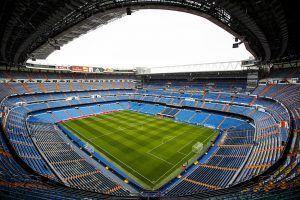 Santiago Bernabéu history