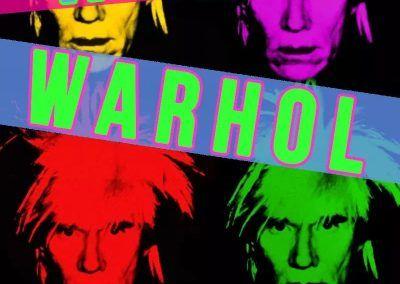 Andy Warhol 28 Octubre 2017 con Jesus Manuel Moron