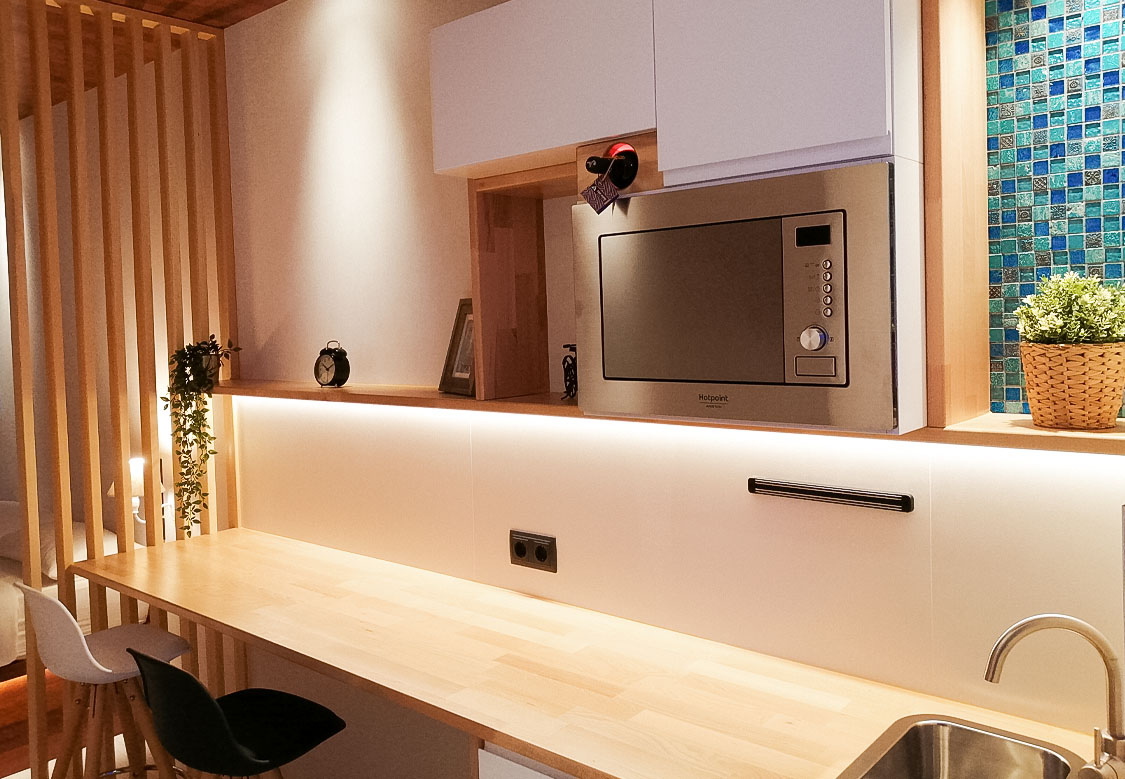doiuble room with kitchenette