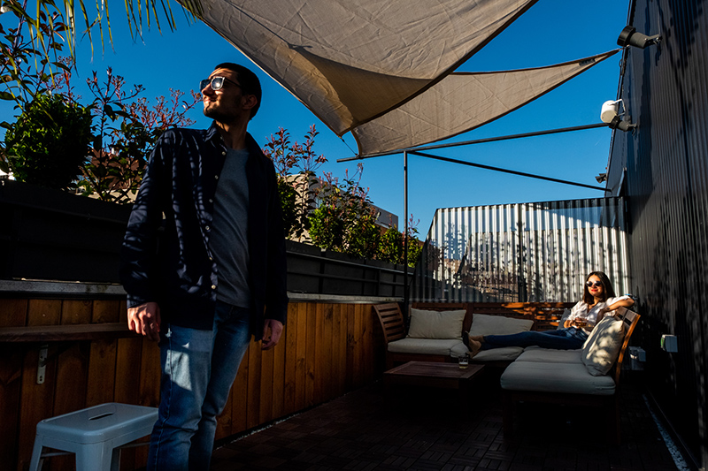 sustainable terrace