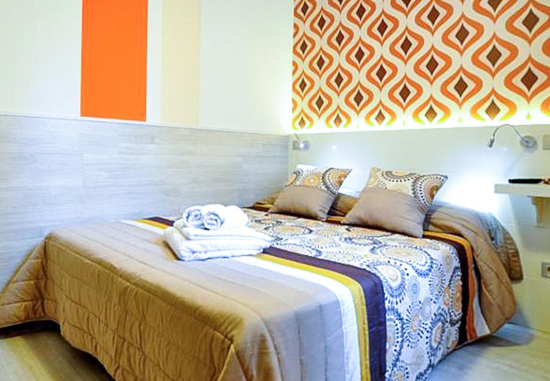 habitación doble baño compartido plaza mayor
